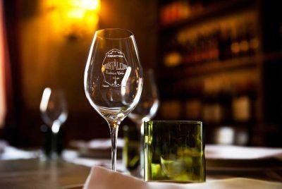 Ristorante Il Montalcino dettaglio bicchiere