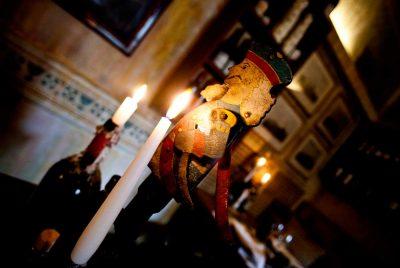Ristorante Il Montalcino dettaglio candela