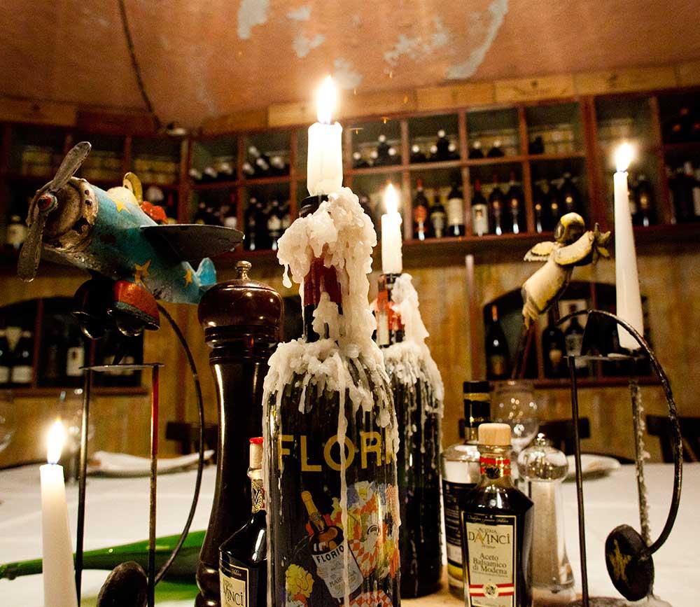 Ristorante Il Montalcino dettaglio bottiglia