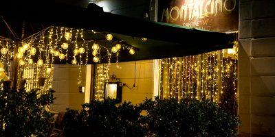 Ristorante Il Montalcino luci di natale