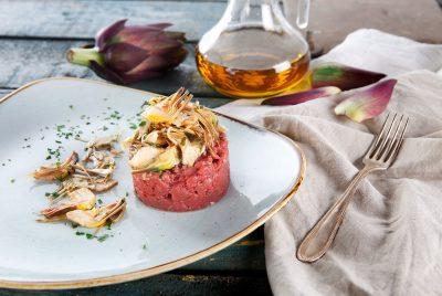 ricetta steak tartar Ristorante Il Montalcino